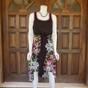 Ruby Rox high low floral dress